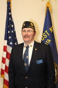 Greg Geiman, District 8 Commander