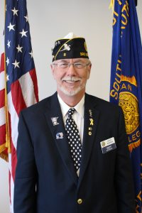 LeRoy Madsen, District 3 Commander.